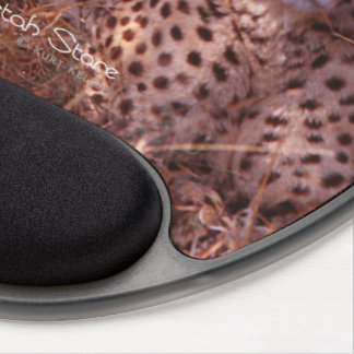 Cheetah Stare Gel Mouse Pad