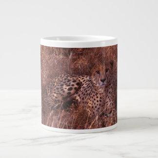 Cheetah Stare Large Coffee Mug