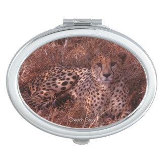 Cheetah Stare Makeup Mirror