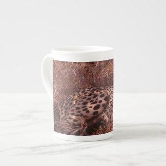 Cheetah Stare Tea Cup