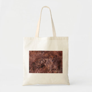 Cheetah Stare Tote Bag
