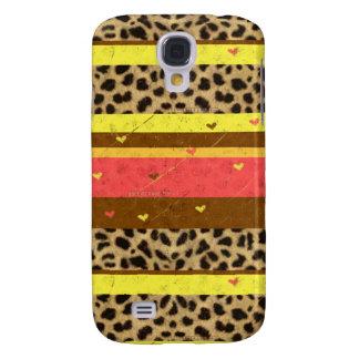 Cheetah Stripe Samsung Galaxy S4 Case