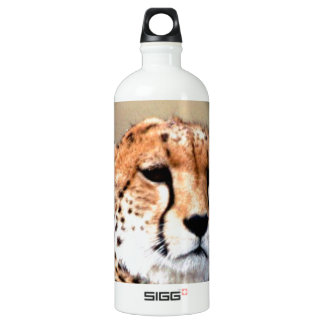 Cheetah Tear Marks Hakunamatata Aluminum Water Bottle