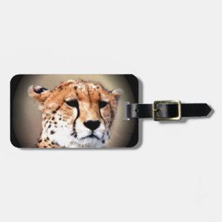 Cheetah Tear Marks Hakunamatata Tag For Luggage