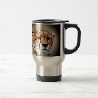 Cheetah Tear Marks Hakunamatata 15 Oz Stainless Steel Travel Mug