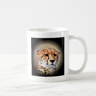 Cheetah Tear Marks Hakunamatata Classic White Coffee Mug