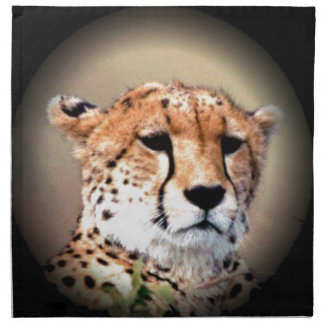 Cheetah Tear Marks Hakunamatata Napkin