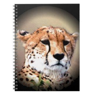 Cheetah Tear Marks Hakunamatata Notebook