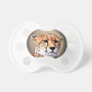 Cheetah Tear Marks Hakunamatata BooginHead Pacifier