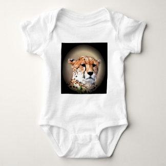 Cheetah Tear Marks Hakunamatata.png Baby Bodysuit