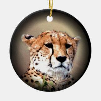 Cheetah Tear Marks Hakunamatata.png Ceramic Ornament