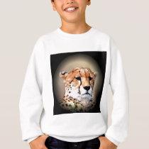 Cheetah Tear Marks Hakunamatata.png Sweatshirt