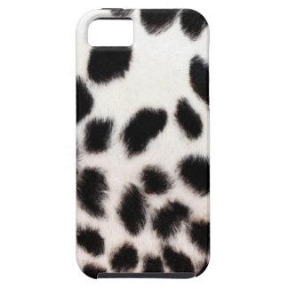 Cheetah White Print iPhone 5 Cases