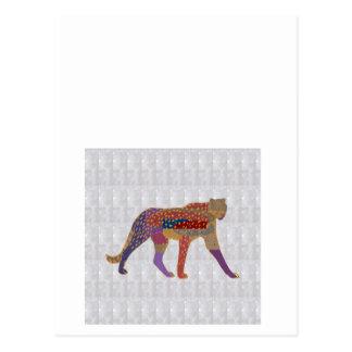 CHEETAH Wild Animal GRANDcard TEAMcard NVN495 Postcard