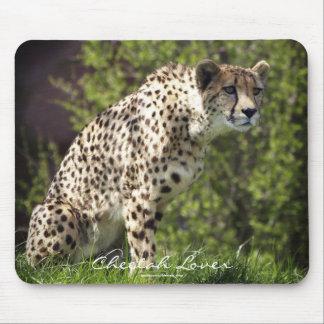 Cheetah Wild Cat Animal-Lover Mousepad