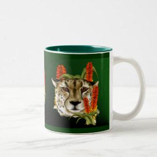 Cheetah with Aloe Mug