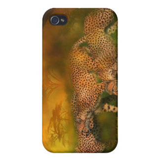 Cheetah World Art Case for iPhone 4