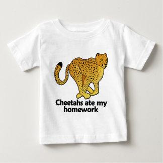 Cheetahs ate my homework baby T-Shirt