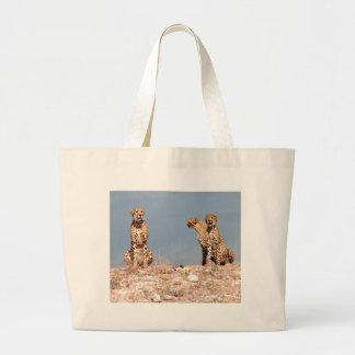 Cheetahs Jumbo Tote Bag