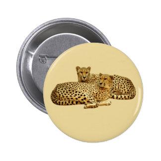 Cheetahs Button