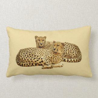 Cheetahs Lumbar Pillow