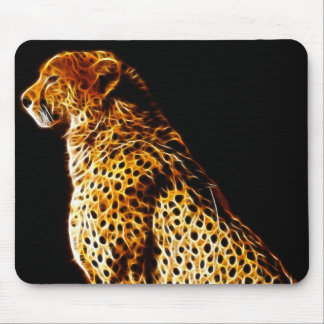 Cheetahs stance mouse pad