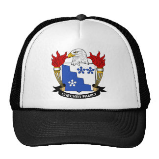 Cheever Family Crest Mesh Hat