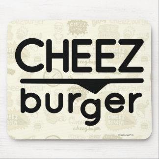 Cheezburger Logo (black) Mouse Pad