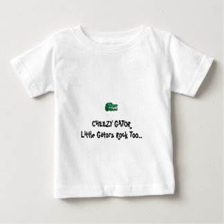 Cheezy Gator for toddlers Baby T-Shirt