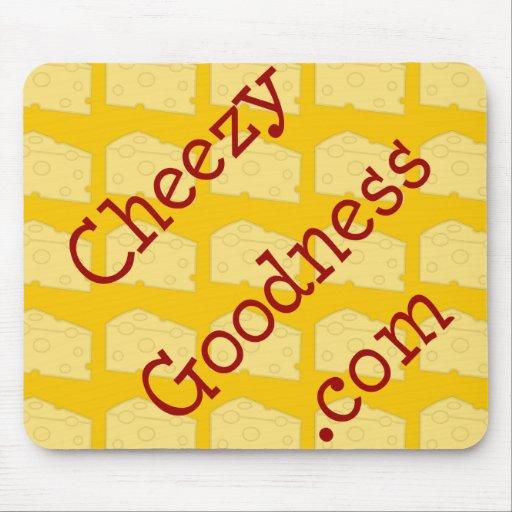 CheezyGoodness.com Alfombrillas De Ratón