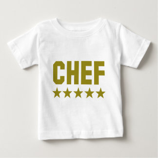chef 5 star icon baby T-Shirt