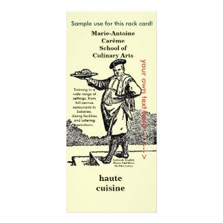 Chef and Culinary Arts - Antonin Carême Rack Card