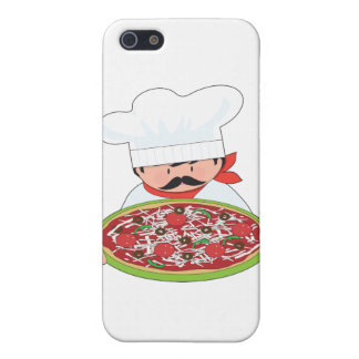 Chef and Pizza iPhone SE/5/5s Case
