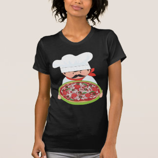 Chef and Pizza T Shirt
