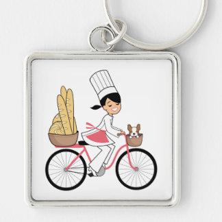 Chef Art Large Keychain