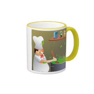 Chef at Work Coffee Mug