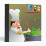 Chef at Work Vinyl Binders