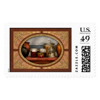 Chef - Aunt Bessie's mantle Postage Stamps
