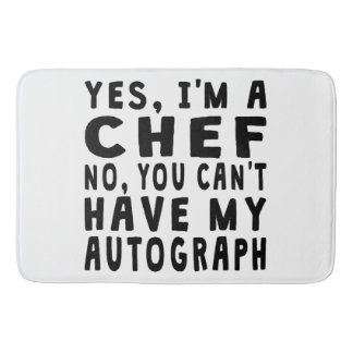 Chef Autograph Bath Mats