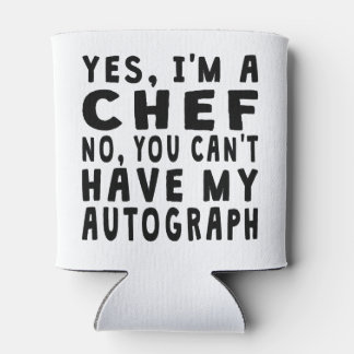 Chef Autograph Can Cooler