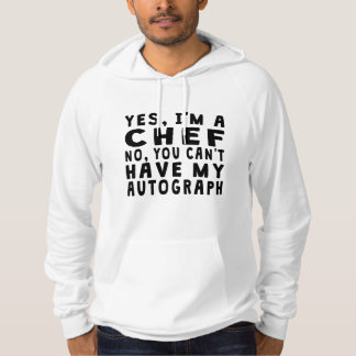 Chef Autograph Hooded Pullovers