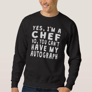 Chef Autograph Pull Over Sweatshirt