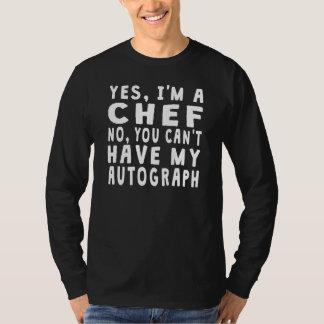 Chef Autograph T-shirts