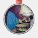 Chef - Baker - Preparing Dinner Ornaments