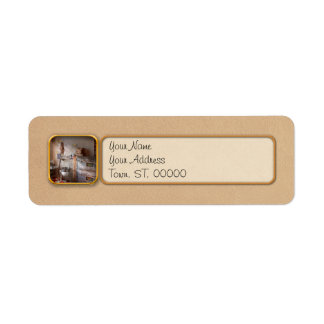 Chef - Baker - The bread oven Label