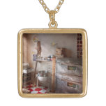 Chef - Baker - The bread oven Necklace