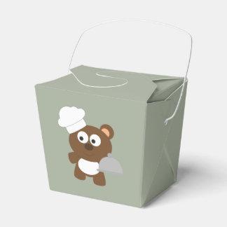 Chef Bear Favor Box