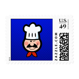 Chef; Blue Stamps