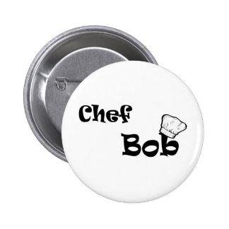 Chef Bob Pinback Buttons