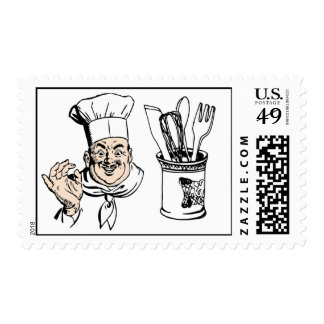 Chef Bon Appetit Cooking Culinary Cuisine Crock Postage